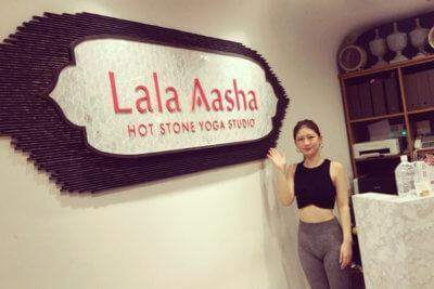 ララアーシャで溶岩ホットヨガ体験@池袋店